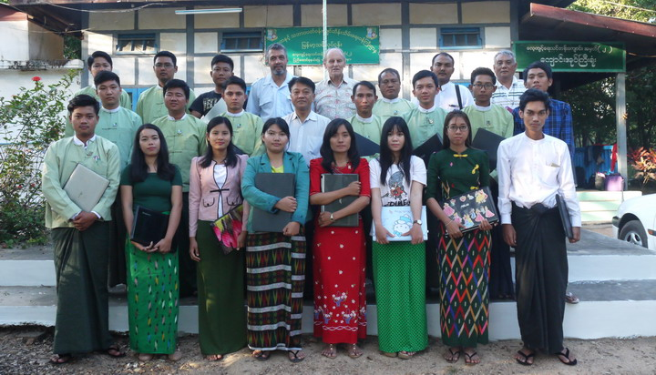 A first for the Myanmar Timber Enterprise, was a training in the forestry application of GPS/GIS held at the MTE training center in Nay Pyi Taw during 17-24 January, 2018.
