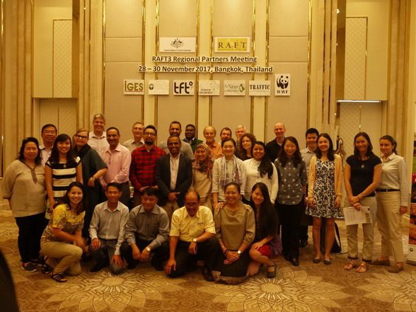 The RAFT3 program, Regional Partners meeting in Bangkok
